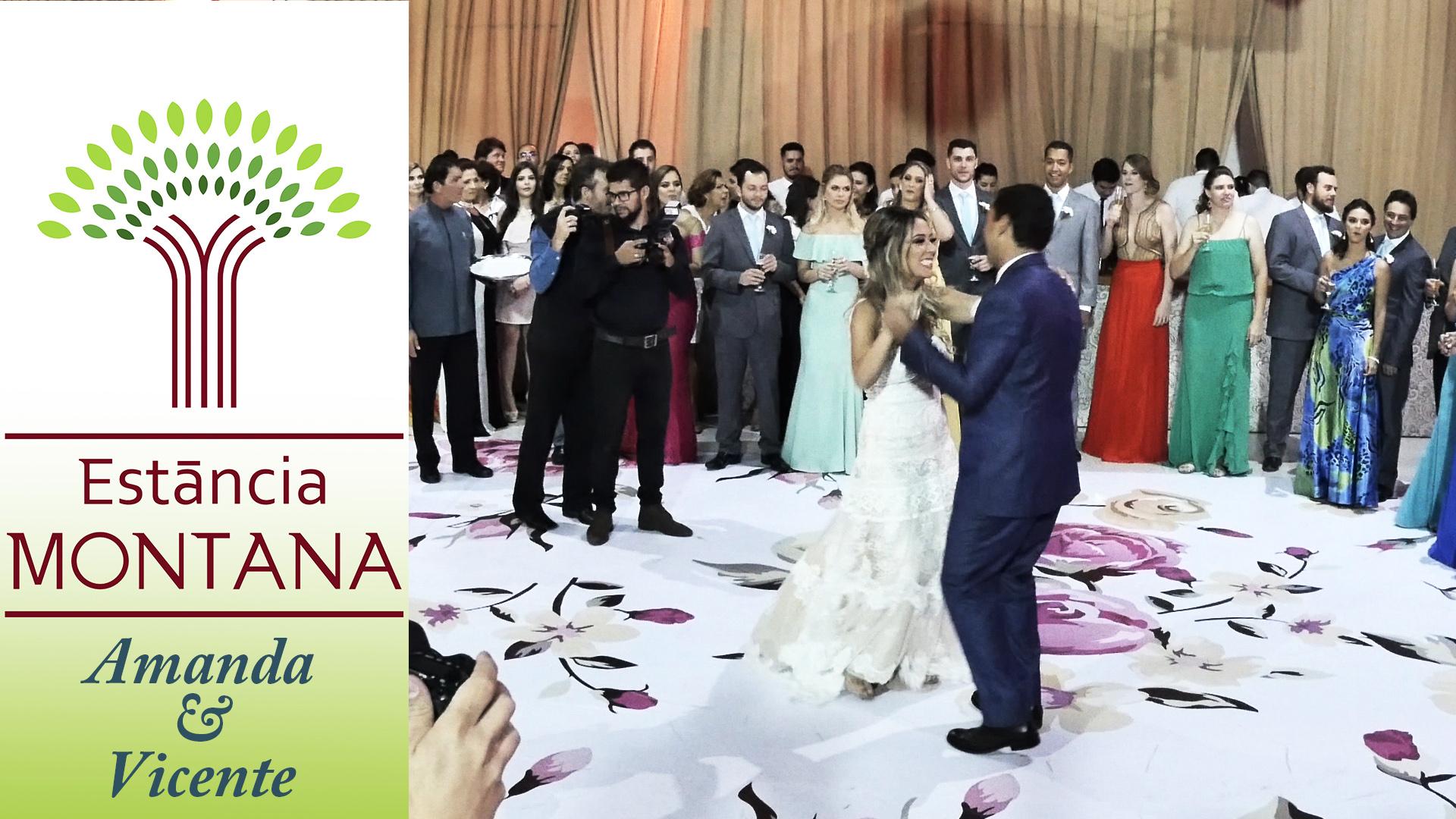 Casamento de Amanda e Vicente